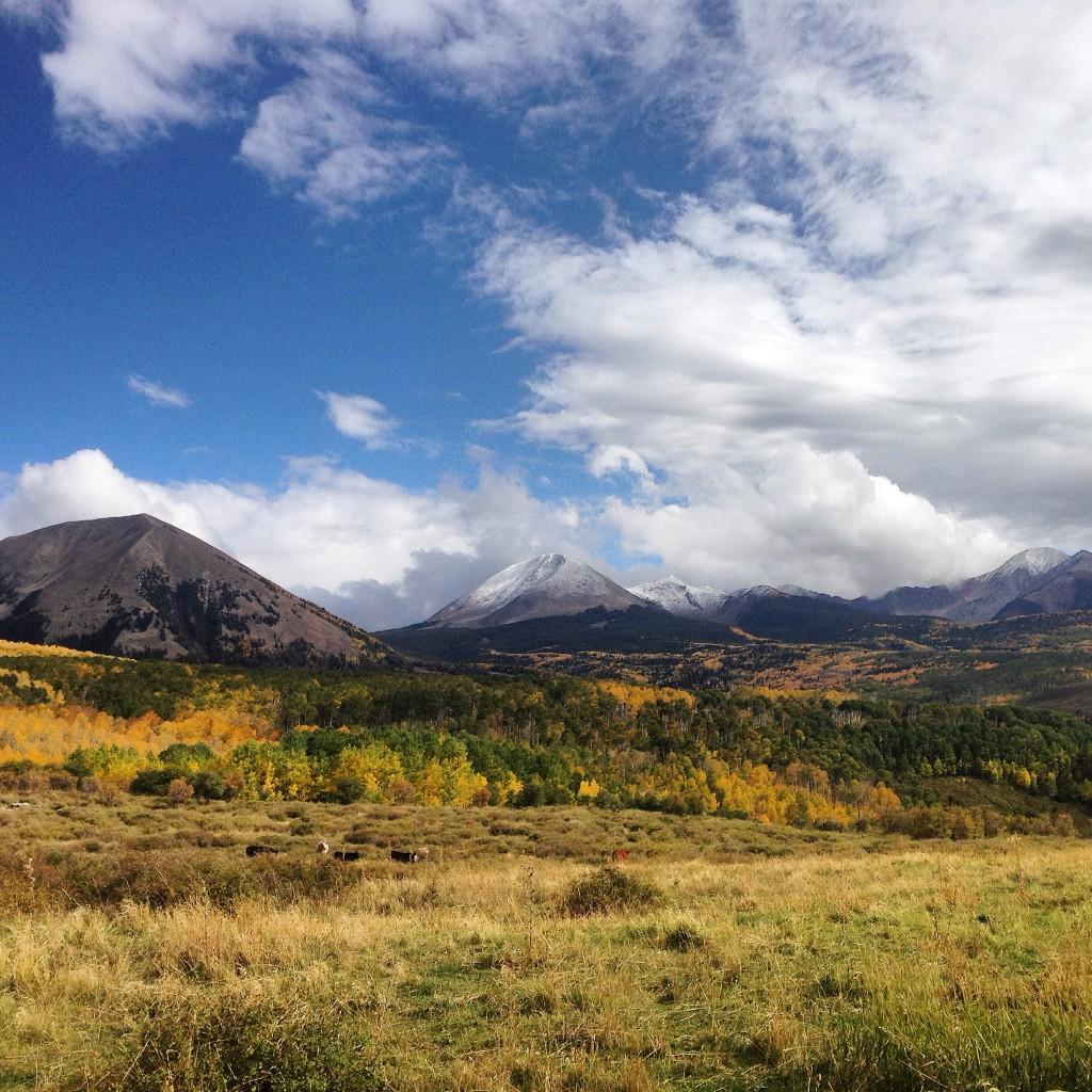 La Sal Mountains Moab