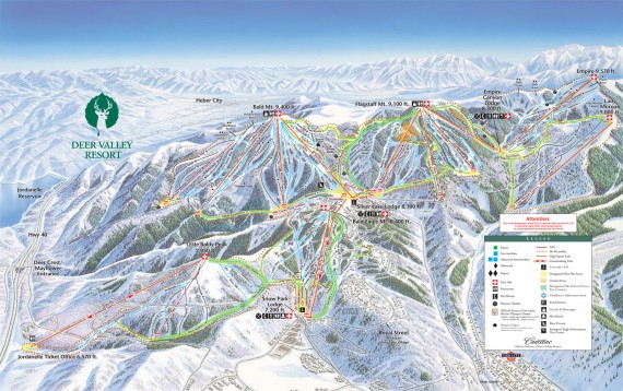 map-Deer-Valley-Trail