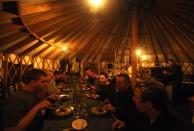 Yurt Dinner