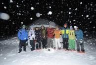 Snowshoeing Solitude