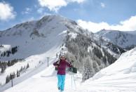 Hiking Alta Ski Resort